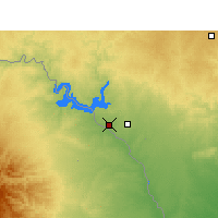 Nearby Forecast Locations - Del Río - Mapa