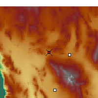 Nearby Forecast Locations - Mercury - Mapa