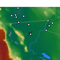 Nearby Forecast Locations - Ejido Nuevo Leon - Mapa