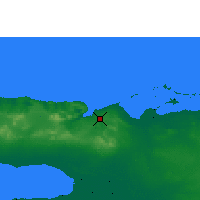 Nearby Forecast Locations - Varadero - Mapa