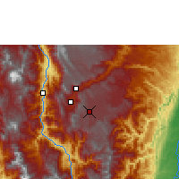 Nearby Forecast Locations - Rionegro - Mapa