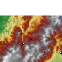 Nearby Forecast Locations - San Juan de Pasto - Mapa