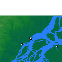 Nearby Forecast Locations - Macapá - Mapa