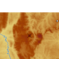 Nearby Forecast Locations - Diamantina - Mapa