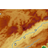 Nearby Forecast Locations - Campos do Jordão - Mapa