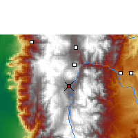 Nearby Forecast Locations - Riobamba - Mapa