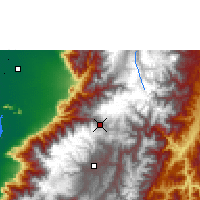 Nearby Forecast Locations - Cañar - Mapa