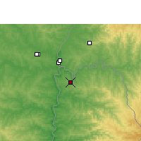 Nearby Forecast Locations - Puerto Iguazú - Mapa