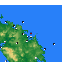 Nearby Forecast Locations - Bay of Islands - Mapa