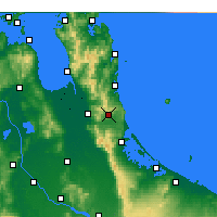 Nearby Forecast Locations - Waihi - Mapa
