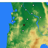 Nearby Forecast Locations - Otorohanga - Mapa