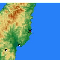 Nearby Forecast Locations - Tolaga Bay - Mapa
