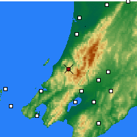 Nearby Forecast Locations - Paraparaumu - Mapa