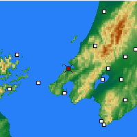 Nearby Forecast Locations - Porirua - Mapa