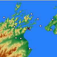 Nearby Forecast Locations - Picton - Mapa