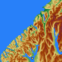 Nearby Forecast Locations - Milford Sound - Mapa