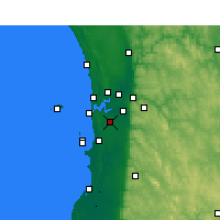 Nearby Forecast Locations - Jandakot - Mapa