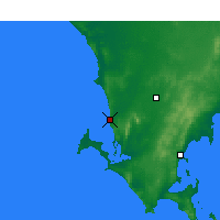 Nearby Forecast Locations - Coles Point - Mapa