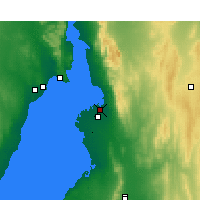 Nearby Forecast Locations - Port Pirie - Mapa
