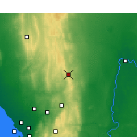 Nearby Forecast Locations - Eudunda - Mapa