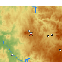 Nearby Forecast Locations - Orange - Mapa