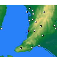 Nearby Forecast Locations - Noarlunga - Mapa