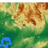 Nearby Forecast Locations - Noojee - Mapa