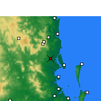 Nearby Forecast Locations - Beerburrum - Mapa