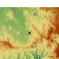 Nearby Forecast Locations - Quirindi - Mapa