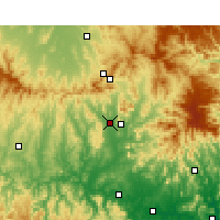 Nearby Forecast Locations - Scone - Mapa