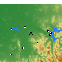 Nearby Forecast Locations - Rutherglen - Mapa
