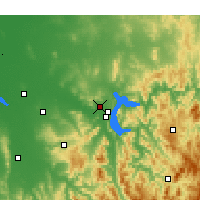 Nearby Forecast Locations - Albury - Mapa