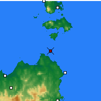 Nearby Forecast Locations - Swan Island - Mapa