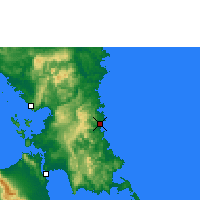 Nearby Forecast Locations - Borongan - Mapa