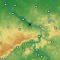 Nearby Forecast Locations - Pirna - Mapa