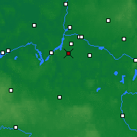 Nearby Forecast Locations - Teltow - Mapa