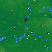Nearby Forecast Locations - Oranienburg - Mapa