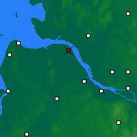Nearby Forecast Locations - Freiburg Elbe - Mapa