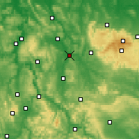 Nearby Forecast Locations - Northeim - Mapa