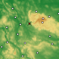 Nearby Forecast Locations - Osterode am Harz - Mapa