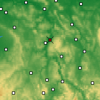 Nearby Forecast Locations - Holzminden - Mapa