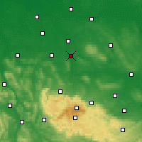 Nearby Forecast Locations - Wolfenbüttel - Mapa