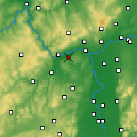 Nearby Forecast Locations - Ingelheim - Mapa