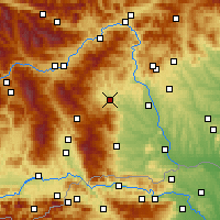 Nearby Forecast Locations - Voitsberg - Mapa