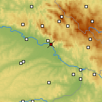 Nearby Forecast Locations - Deggendorf - Mapa