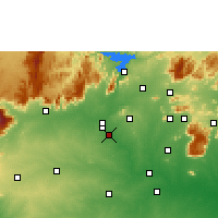 Nearby Forecast Locations - Erode - Mapa