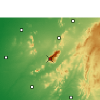 Nearby Forecast Locations - Monte Ābū - Mapa