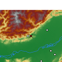 Nearby Forecast Locations - Naharlagun - Mapa