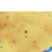 Nearby Forecast Locations - Nargund - Mapa