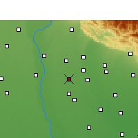 Nearby Forecast Locations - Noorpur - Mapa